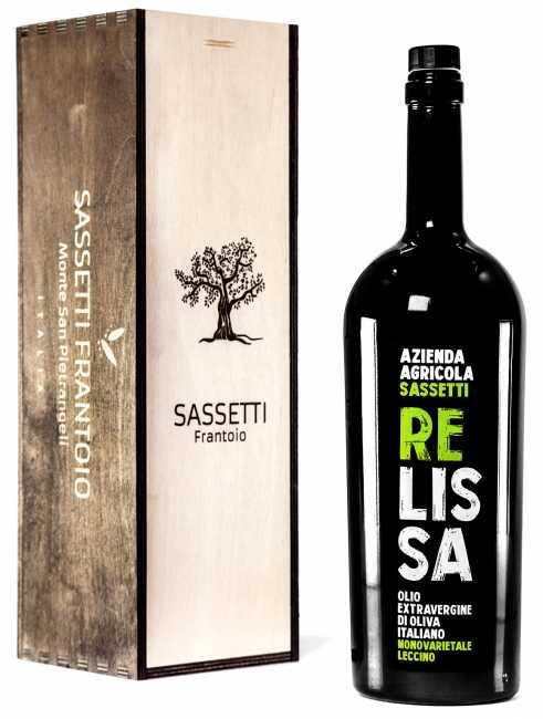 Olio Extravergine di Oliva Italiano Relissa - Azienda agricola Sassetti